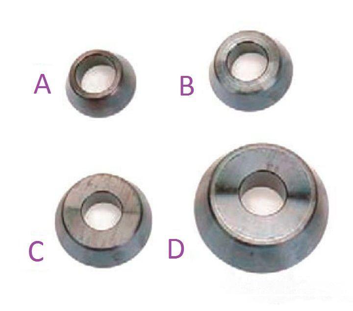 Купить Базовый комплект конусов (4 ед.) со стандартным углом для балансировочных стендов 20-1167-1