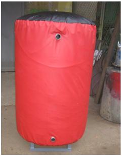 Аккумулирующая буферная емкость (бак-аккумулятор) для системы отопления 680л