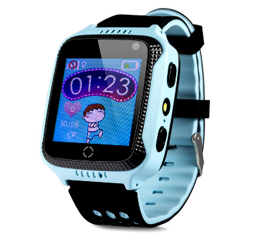 Оригинальные детские смарт часы с GPS WONLEX GW500s (G51, Y21, Q528) цвет голубой