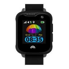 Оригинальные детские смарт часы с GPS WONLEX KT05 цвет черный