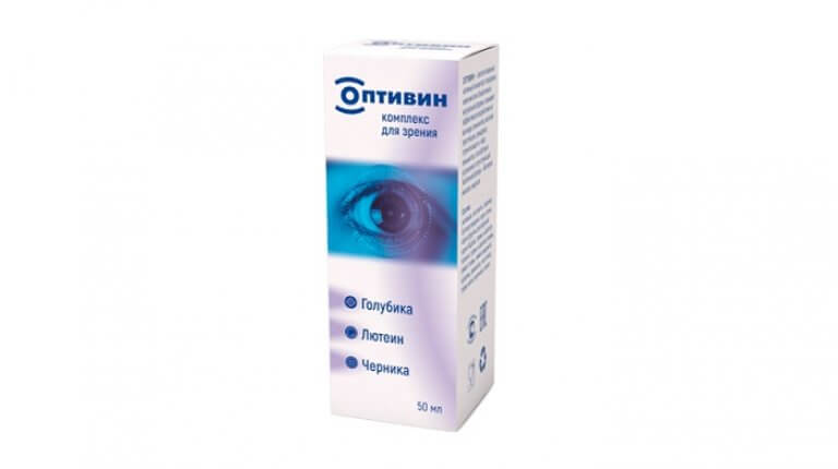 Buy Optivin drops to restore vision