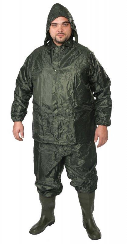 Купить Костюм ПВХ - нейлон (куртка,брюки), зеленый