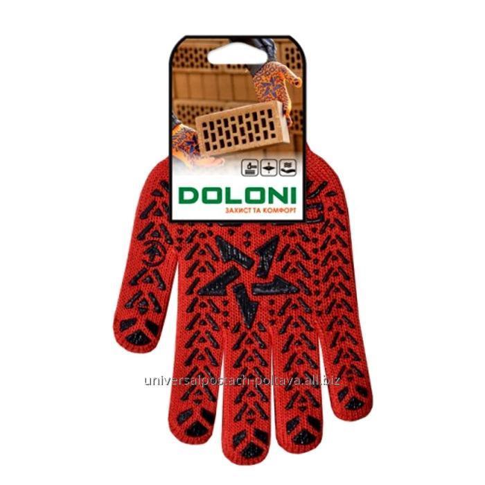 Купить Перчатка Doloni Звезда красная, арт. 4040