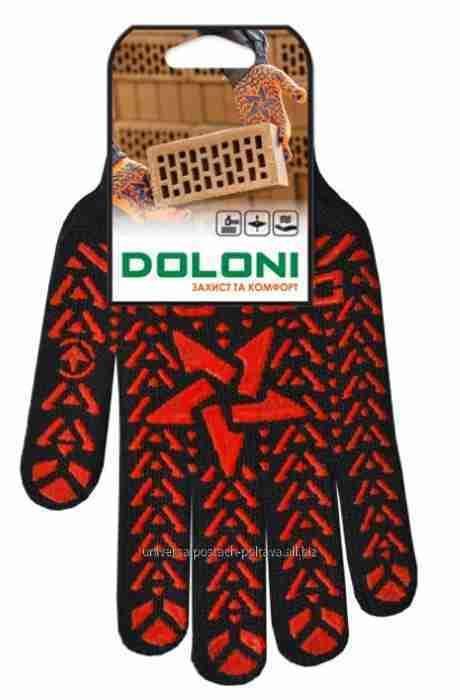 Купити Рукавички Doloni 562 ДКГ Зірка чорна