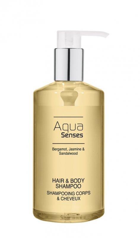 Aqua Senses Pump Dispencer 300 мл Шампунь для волос и тела (Germany)