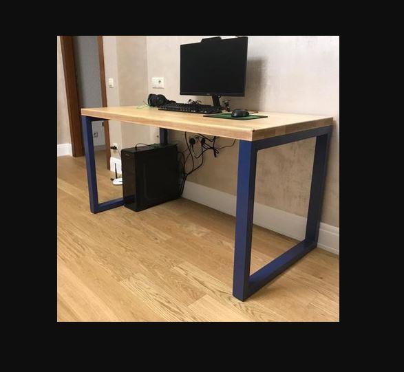Стол металлический прямоугольный