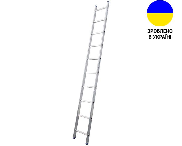 Купить Алюминиевая односекционная лестница 10 ступеней UNOMAX VIRASTAR