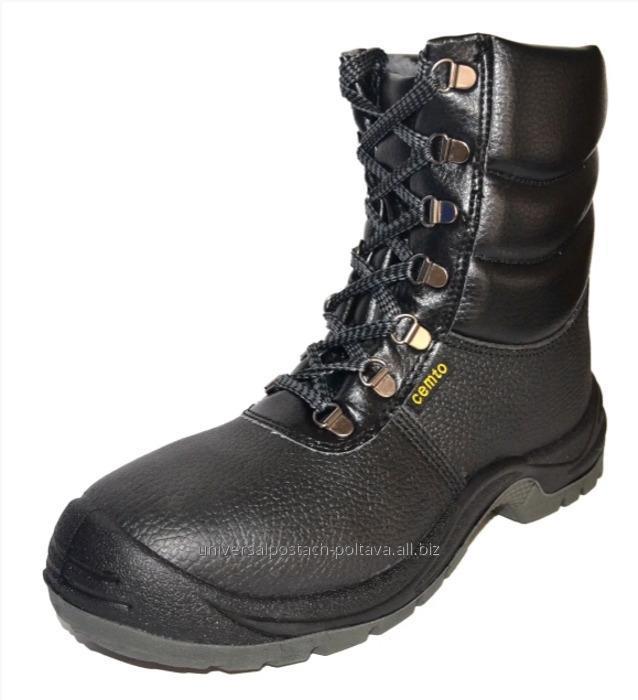 Купить Полусапоги берцы зимние с металлическим носком cemto komfort, арт. 9012