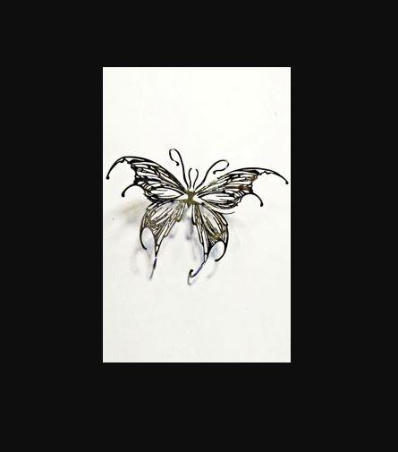 Декор Бабочка мотылек