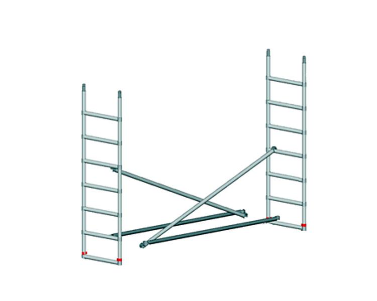 Купить Секция к вышке-туре TEMPO TECH S SVELT 7 ступеней, длинна 2,5 м