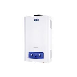 Купити Газова колонка Dion JSD 10 з дисплеєм (преміум) димохідна біла
