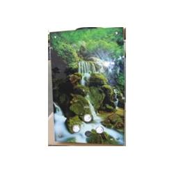 Газовая колонка Dion JSD 10 стекло с дисплеем дымоходная водопад
