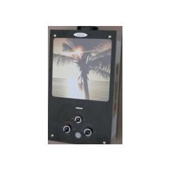 Газова колонка Dion JSD 10 скло з дисплеєм димохідна пальма