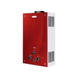 Газовая колонка Dion JSD 10 стекло с дисплеем дымоходная красная