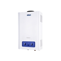 Купити Газова колонка Dion JSD 12 з дисплеєм (преміум) димохідна біла