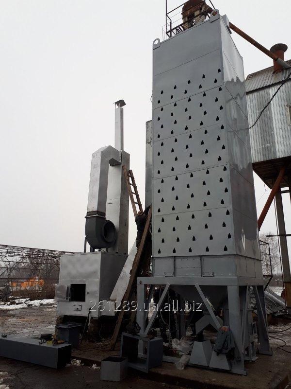 Купить Зерносушилка шахтная ЗСШ-1 (производительность 3 т/час) на твердом топливе