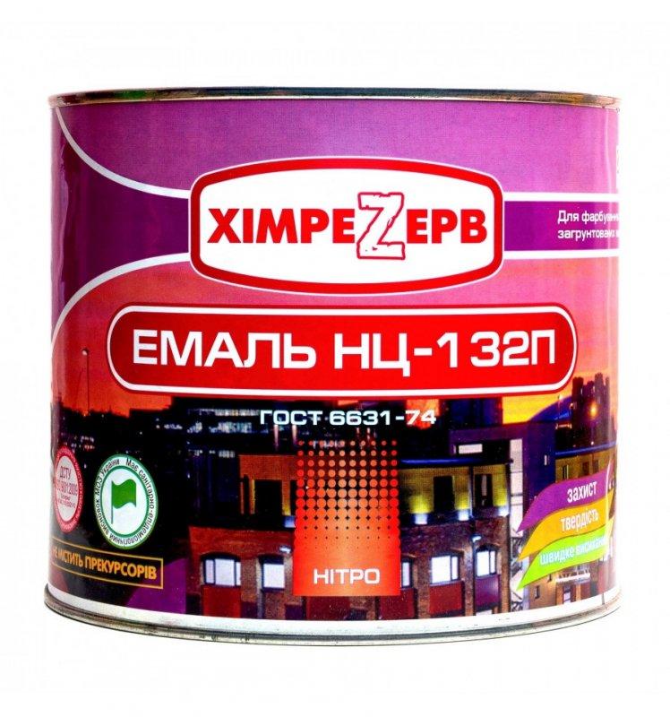 Купить Нітроемаль НЦ-132 П ТМ Хімрезерв(0,8кг/2кг/17кг/37кг) Від упаковки