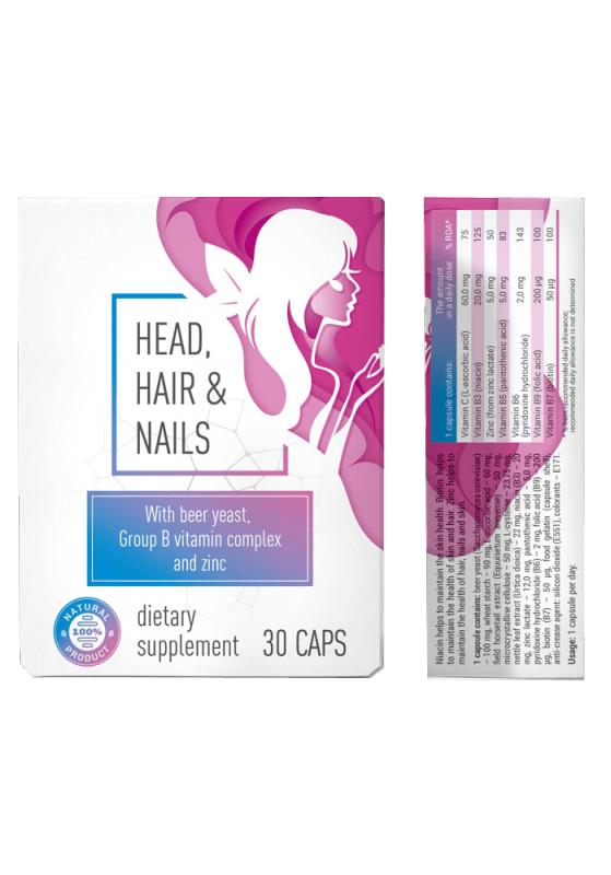 Buy Head & Hair & Nail (Gea Andes Head End Neil) - Capsules hair loss