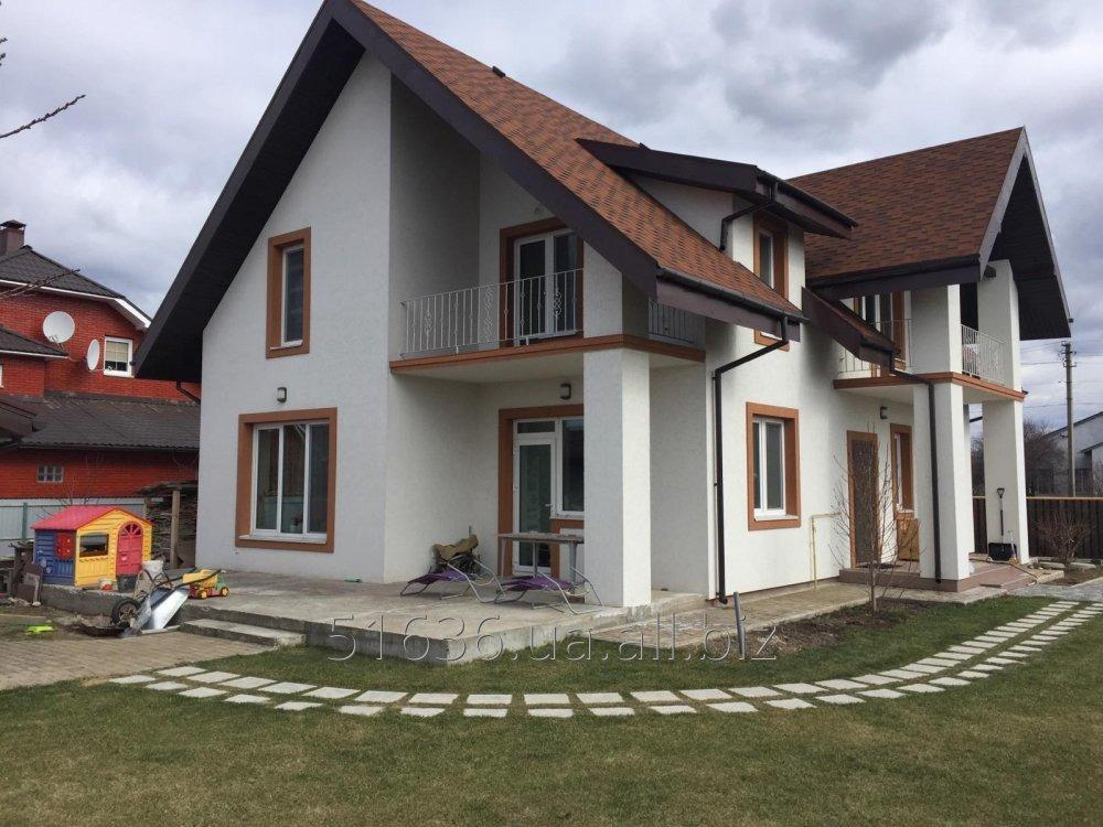 Купить Проект одноквартирного дома, архитектурные и конструктивные решения
