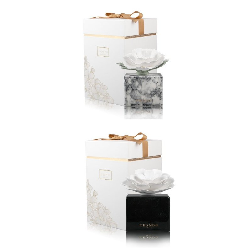 "Buy Aromadiffusors ""White Marble (White marble) / Black Marble (Black marble)"""