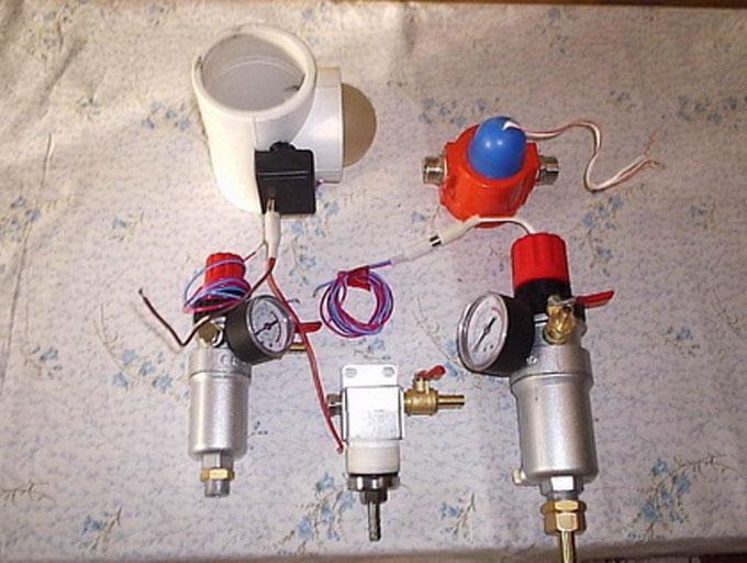 Автоактиватор - преобразователь воздуха PARUS