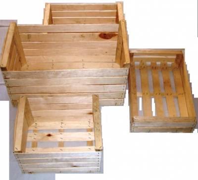 Купить Ящики деревянные для овощей и фруктов