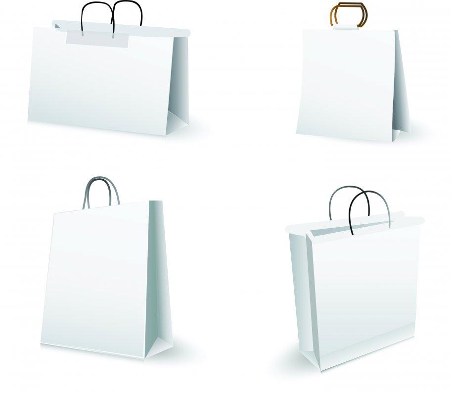 Купить Пакет картонный с тиснением фольгой