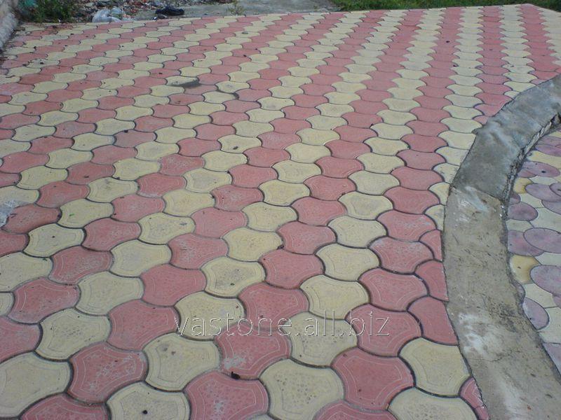 Купить Тротуарная плитка «Бикини» Желтый