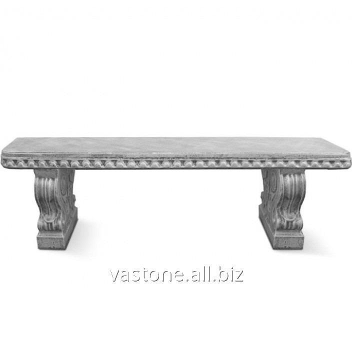 """Купить Форма для скамейки из бетона """"Барокко"""" стеклопластиковая"""