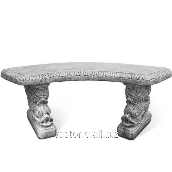 """Купить Форма для скамейки из бетона """"Китай"""" стеклопластиковая"""