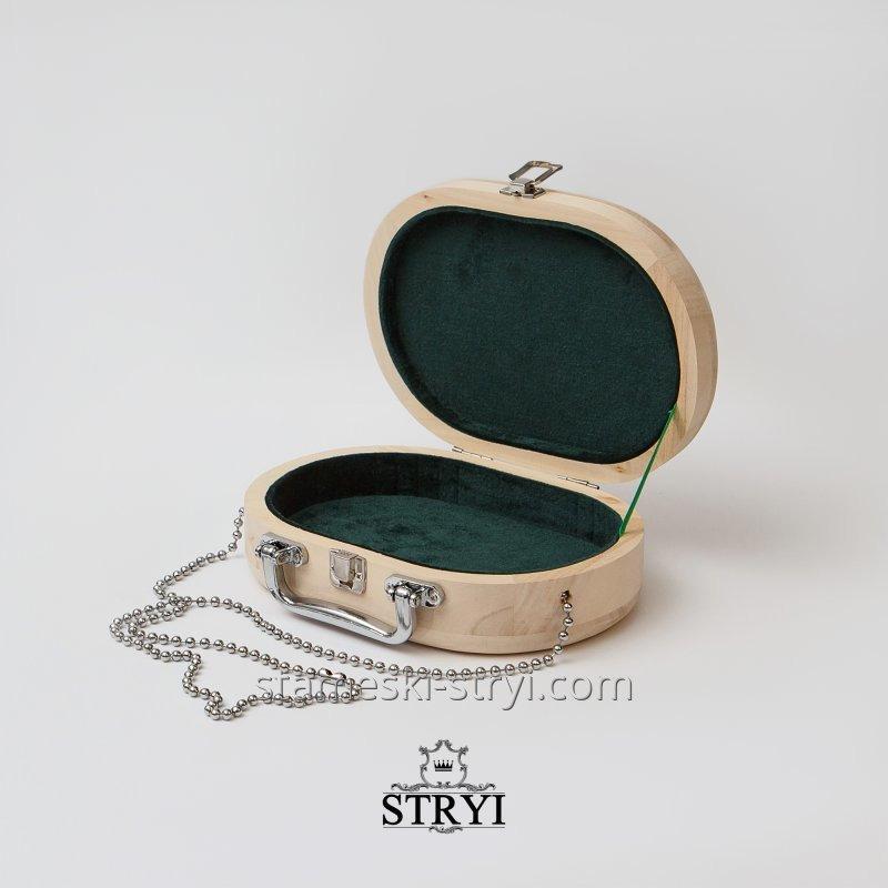 Деревянная заготовка женской сумочки, арт.703218