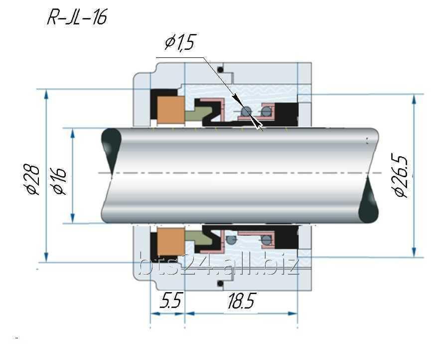 Joints à surface pour les pompes