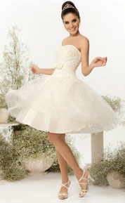 3dbd24d905e Короткое свадебное платье купить в Киеве