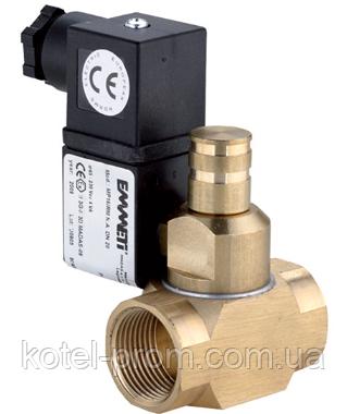 """Купить Электромагнитный клапан для газа Emmeti 1 1/4"""" 12V нормально открытый, ручной взвод"""