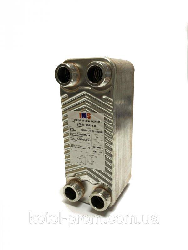 Купить Пластинчатый теплообменник IMS В3-012-ZB-30 3/4 (30-50кВт)