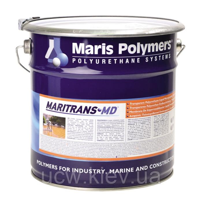 Прозора гідроізоляція мастикою MARITRANS MD 1