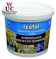 Полимерная гидроизоляционная мембрана IZOFOL FLEX фасовка 12 кг.