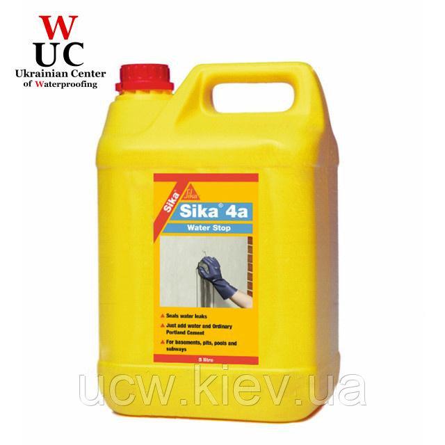 Ускоритель схватывания цементных растворов Sika-4a