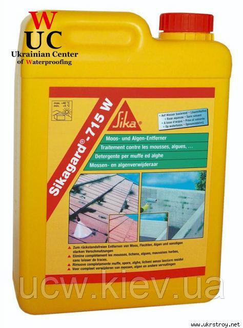 Очиститель минеральных оснований Sikagard-715 W, 1 л.