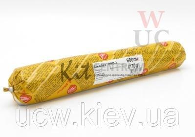 Купить Многоцелевой эластичный герметик для полов Sikaflex PRO-3, 600 мл. серый