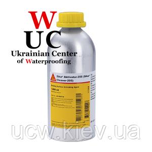 Очиститель Sika Aktivator - 205, 1000 мл.