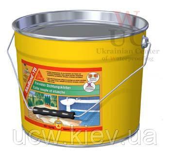 Полиуретановый клей-гидроизоляция SikaBond-T8, 10 л / 13,4 кг