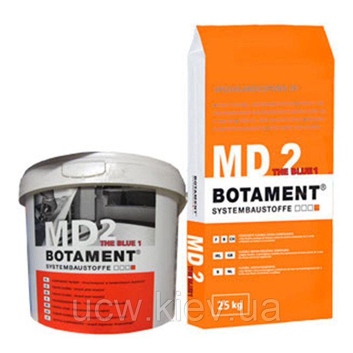 Двухкомпонентный герметик BOTAMENT MD 2 The Blue 1 30 кг