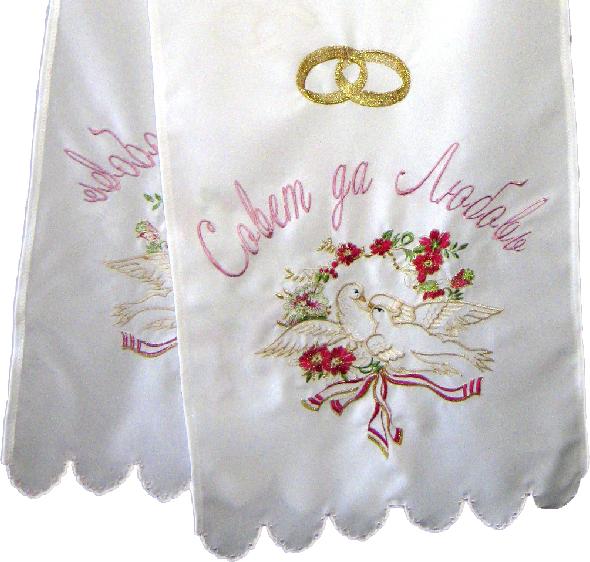 Свадебные вышитые рушники
