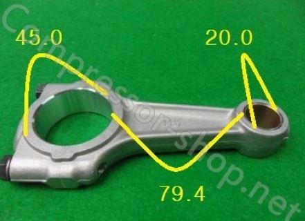 Купить Шатун Bitzer 4H, 6H, 4G, 6G, 4F, 6F, 4J, 6J, S4H, S6H, S4G, S6F, S6J (-0.50 mm) (302 115 01)