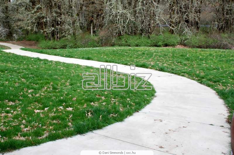 Купити Доріжки садові форми для пресованого бетону від імпортера й оф. представника в Україні