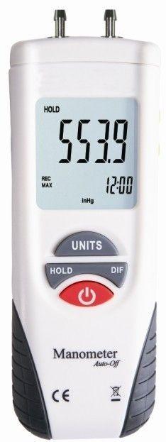 Купить Цифровой дифференциальный манометр KCMOON HT-1890 (0.01/13,79 кПа) максимальное давление до 68,9 кПа