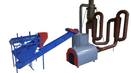 Buy Drying complex aerodynamic with the air heat exchanger on drying of sawdust for production of briquettes and fuel granules (pellet) (drying by air)