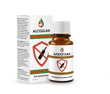 Alcoglan (Алкоглан) — капли от алкогольной зависимости