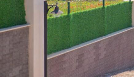 Купить Декоративный ограждение из искусственной травы